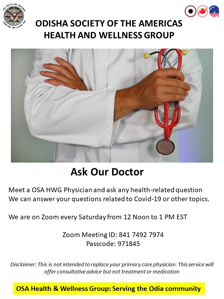 Ask Our Doctor - Speaker Series
